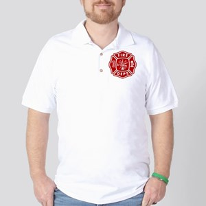 Fire Department Crest Golf Shirt