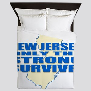 New Jersey Strong Queen Duvet