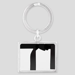 Black Belt Landscape Keychain