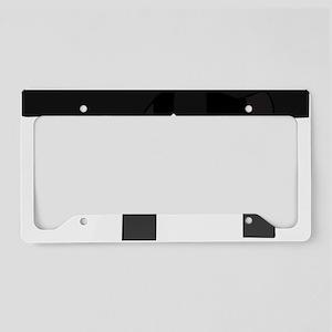 Black Belt License Plate Holder
