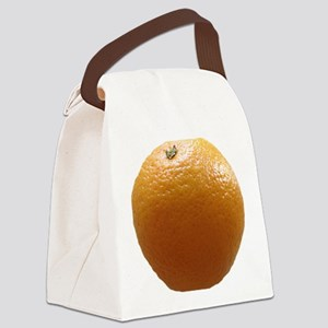 Orange Canvas Lunch Bag
