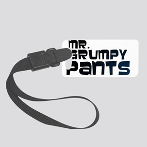 Mr Grumpy Pants Small Luggage Tag