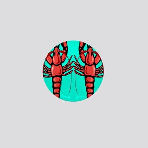 Crayfish Mini Button
