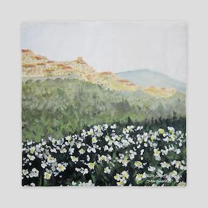 daisies in Monterosso Queen Duvet