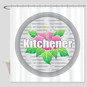 Kitchener - Hibiscus Shower Curtain