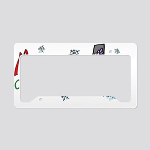 Maggie Christmas 2012 License Plate Holder