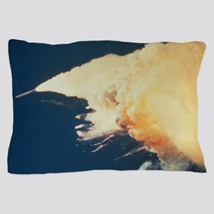 Booster rocket out of control (Challen Pillow Case