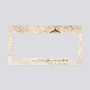 Armoured vehicle License Plate Holder