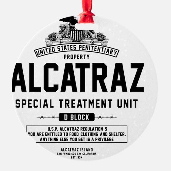 Alcatraz S.T.U. Ornament