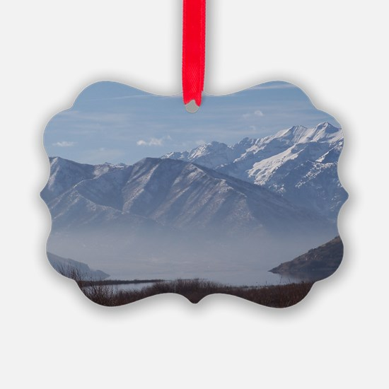 Fog on Deer Creek Ornament