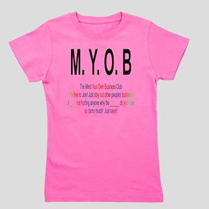 M.Y.O.B Club Girl's Tee