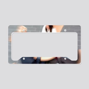 Business meeting License Plate Holder