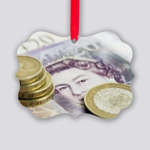 British currency Picture Ornament