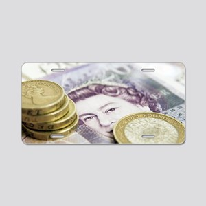 British currency Aluminum License Plate
