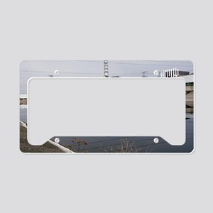 Chernobyl nuclear power plant License Plate Holder