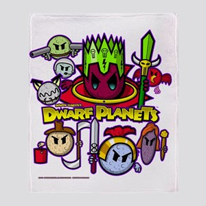 DWARF PLANETS - Throw Blanket