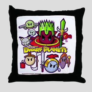 DWARF PLANETS - Throw Pillow