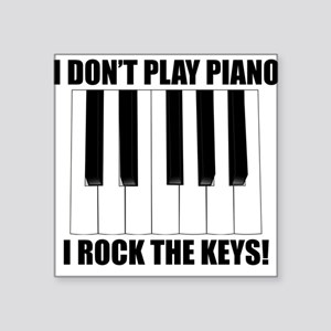 I Rock The Keys Sticker