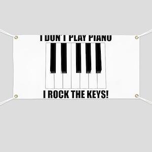 I Rock The Keys Banner