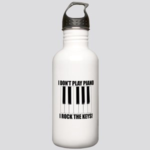 I Rock The Keys Water Bottle