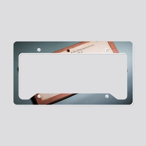 Child's mathematics tablet, B License Plate Holder