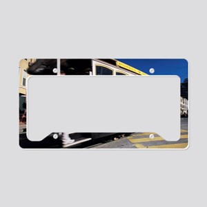 Cable car License Plate Holder