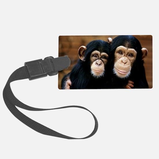 Chimpanzees Luggage Tag