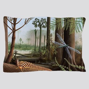 Carboniferous insects, artwork Pillow Case