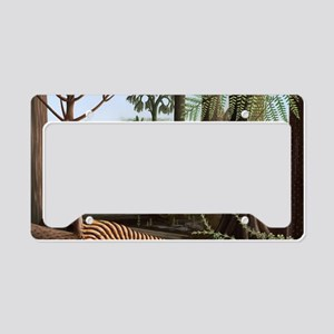 Carboniferous insects, artwor License Plate Holder
