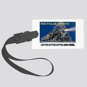 LOCOMOTIVE - POLAR EXPRESS Large Luggage Tag