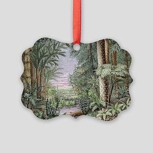 Carboniferous landscape Picture Ornament