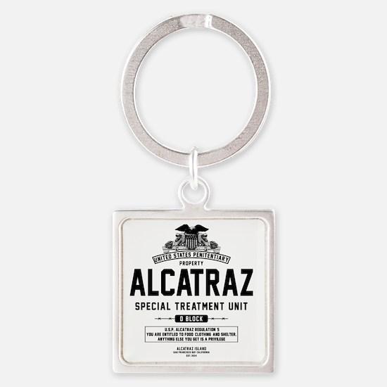 Alcatraz S.T.U. Square Keychain