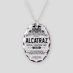 Alcatraz S.T.U. Necklace Oval Charm