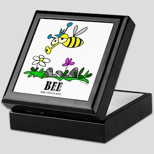 Cartoon Bee by Lorenzo Keepsake Box