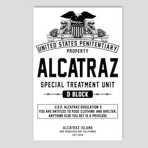 Alcatraz S.T.U. Postcards (Package of 8)