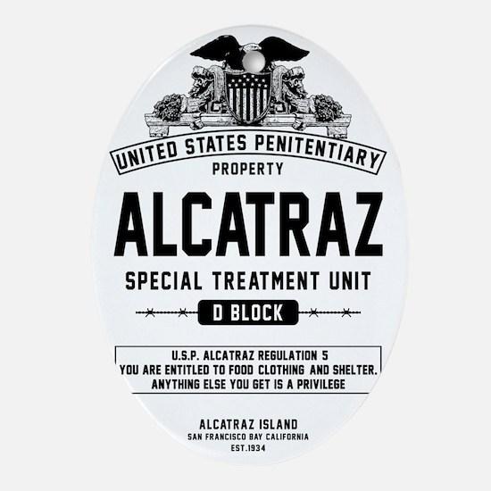 Alcatraz S.T.U. Oval Ornament