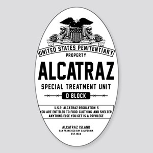 Alcatraz S.T.U. Sticker (Oval)