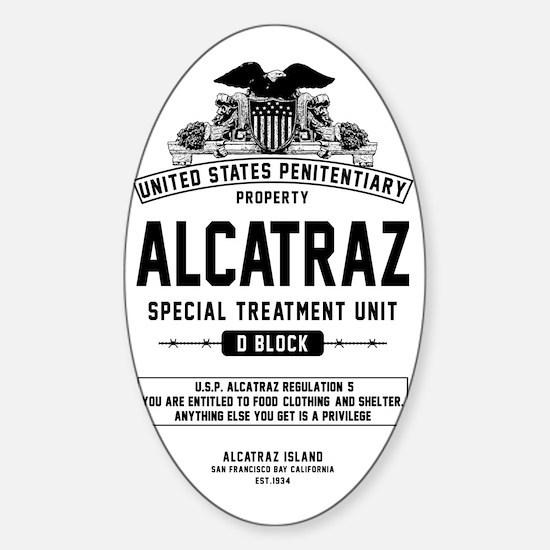 Alcatraz S.T.U. Sticker (Oval)