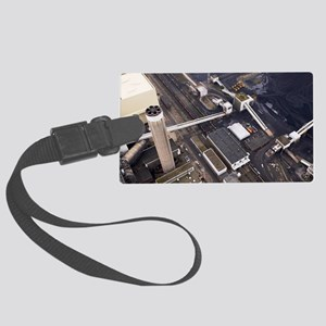 Coal supplies for a power statio Large Luggage Tag