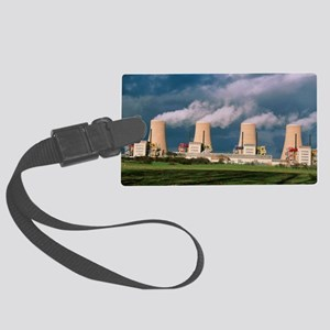 Chapelcross Nuclear Power Statio Large Luggage Tag