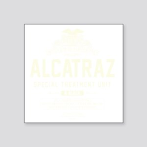 "Alcatraz S.T.U. Square Sticker 3"" x 3"""