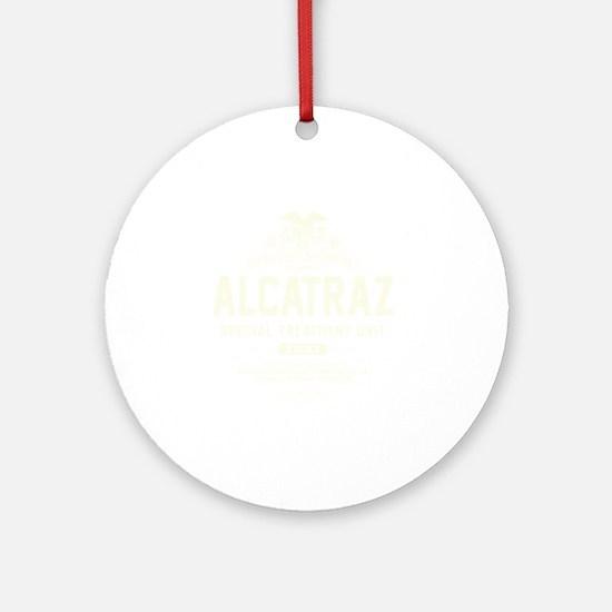 Alcatraz S.T.U. Round Ornament