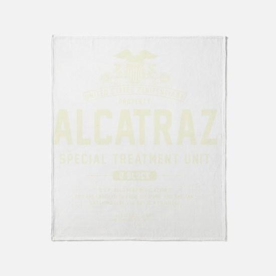 Alcatraz S.T.U. Throw Blanket