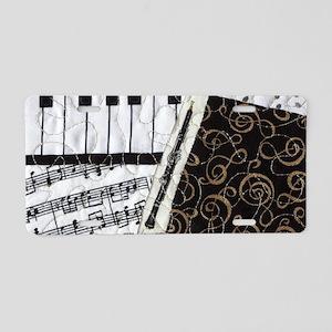 0505-clutch-oboe Aluminum License Plate