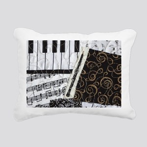 0505-laptop-oboe Rectangular Canvas Pillow