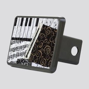 0505-laptop-oboe Rectangular Hitch Cover