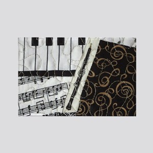 0505-laptop-oboe Rectangle Magnet