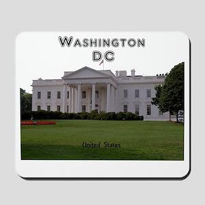 WashingtonDC_13x13_WhiteHouse1 Mousepad