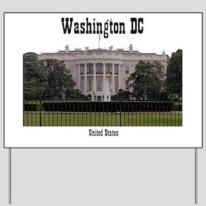 WashingtonDC_13x13_WhiteHouse2 Yard Sign