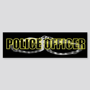 """COP BUFF SHOP"" Bumper Sticker"